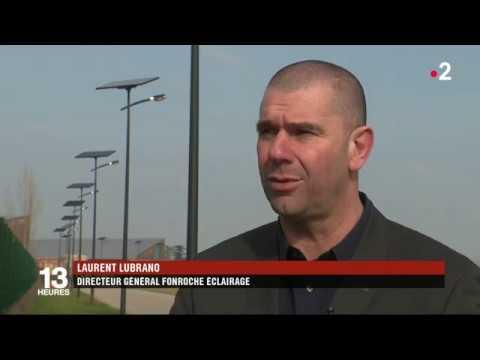 Reportage France 2 : l'éclairage public solaire français au Sénégal