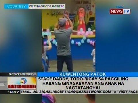 BT: Stage daddy, todo-bigay sa paggiling habang ginagabayan ang anak na nagtatanghal