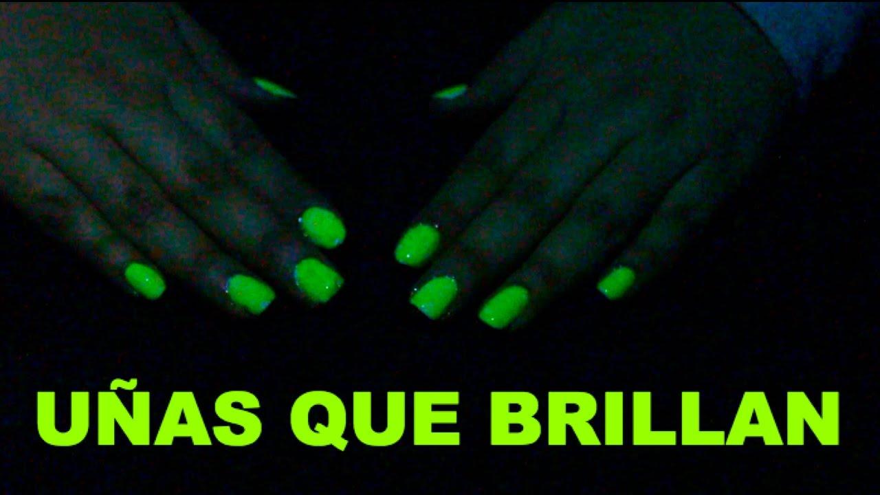 DIY-ESMALTE QUE BRILLA EN LA OSCURIDAD♡ILSE GOMEZ GLOW IN THE DARK ...