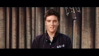 Elvis Presley - Jailhouse Rock (1957 Classic Movie) Colorized And Remastered HD
