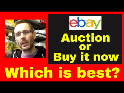 How to sell on eBay - Pros and cons of Using 'Auction VS Buy It now' & 'Best offer'