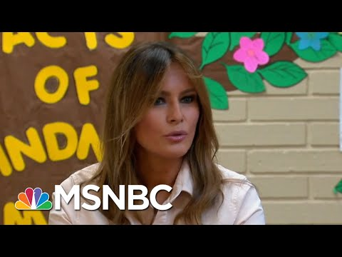 Melania Trump's Migrant Center Visit Marred By Fashion Choice   The 11th Hour   MSNBC