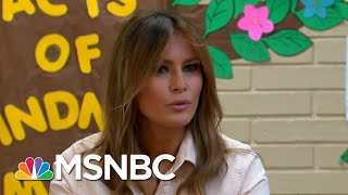 Melania Trump's Migrant Center Visit Marred By Fashion Choice | The 11th Hour | MSNBC