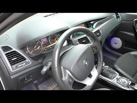 Осмотр Renault Laguna 2013 Bose с немного скрученным пробегом
