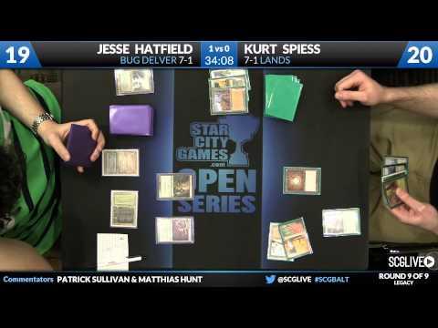 SCGBALT - Legacy - Round 9 - Kurt Spiess vs Jesse Hatfield