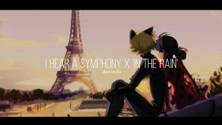 in the rain from miraculous ladybug × i hear a symphony by cody fry | doremifa🐞