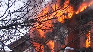 Gas leak may be to blame for fiery NYC building collapse