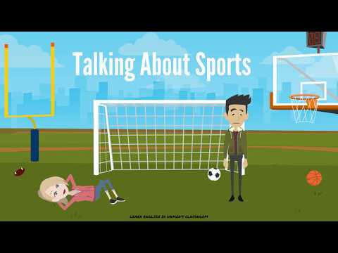 Talking About Sports  | English Speaking Lessons | How To Talk About Sports In English