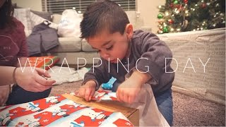 How To Wrap Presents: By A 3 Year Old