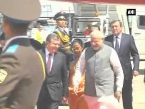 Modi meets President of Uzbekistan