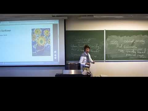 History of Economic Thought: Marginalism Lecture 1