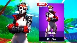 The New TAKARA JAPAN Skin In Fortnite...