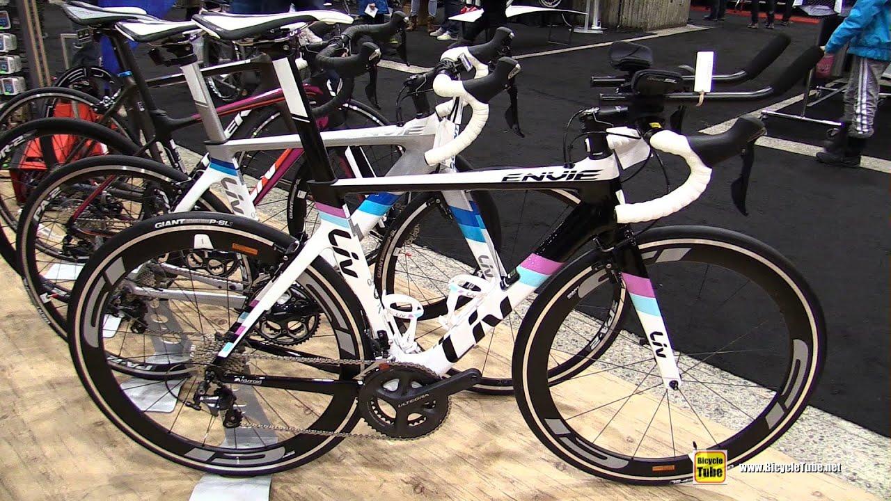 1a1e08eba6d 2016 Liv Envie Advanced Triathlon Bike - Walkaround - 2016 Salon Velo  Montreal