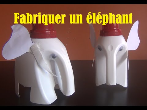 Diy bricolage faire la maison 26 fabriquer un l phant youtube - Creation a faire a la maison ...