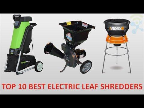 10 BEST CHEAP ELECTRIC LEAF SHREDDERS REVIEWS