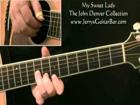 How To Play John Denver My Sweet Lady Introduction Youtube