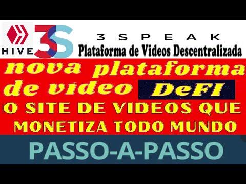 【3Speak】| Passo a Passo | Ganhe token HIVE | Nova plataforma de vídeo DeFi | Rede BSC | Renda Extra
