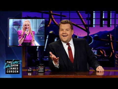 "James Corden Discovers Swedish ""Carpool Karaoke"" Song"