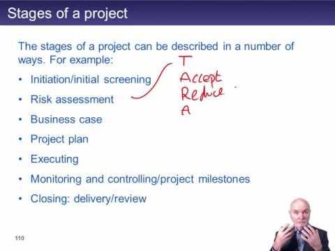 CIMA E2 Project management