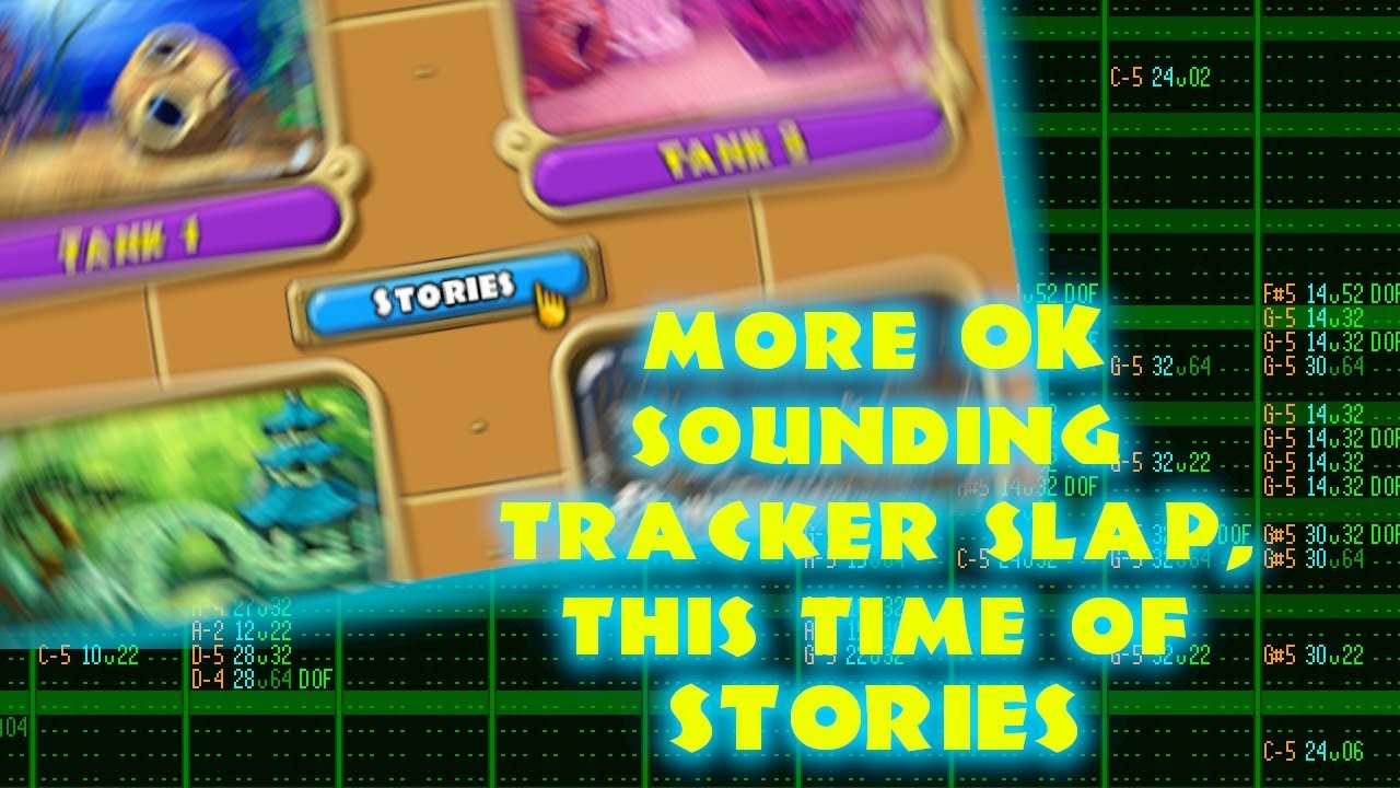 Insaniquarium Stories Soundtrack, but in the Bejeweled 2 Soundfont