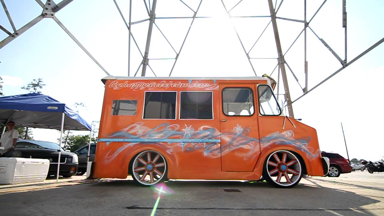Lowrider Ice Cream Truck
