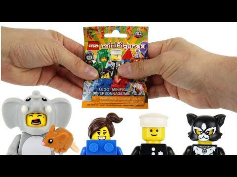 How to Feel LEGO Minifigure Series 18 Blind Bags - All 17 Bags Opened!