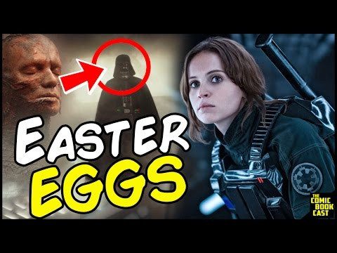 Star Wars ROGUE ONE Easter Eggs, Cameos &...