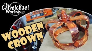 Make A Wooden Crown From A Log - Challenge Tree 2015 Project
