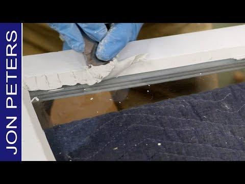 How To Repair A Broken Window - Window Glazing