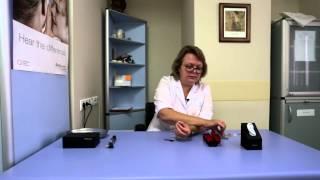Уход за вкладышами слухового аппарата