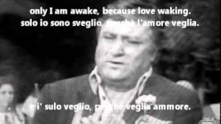 Mario Merola - Tu ca nun chiagne (English lyrics,1915)