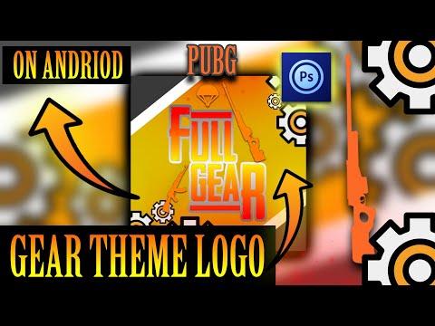 HOW TO MAKE GEAR THEME LOGO// ON ANDRIOD// NEW DESIGN TUTORIAL FULL thumbnail
