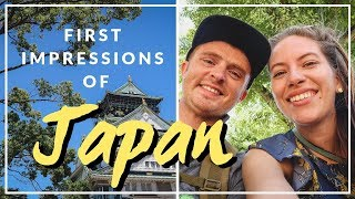 Come join us for an exciting first day in Japan where we visit Osak...