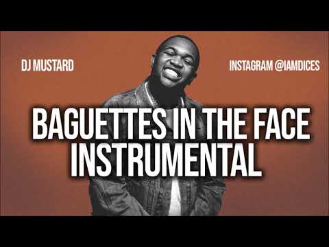 """DJ Mustard """"Baguettes in the Face"""" ft. NAV & Playboi Carti Instrumental Prod. by Dices *FREE DL*"""