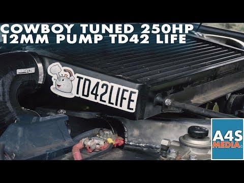 Cowboy Tuned 250HP 12MM Pump TD42 Life - YouTube