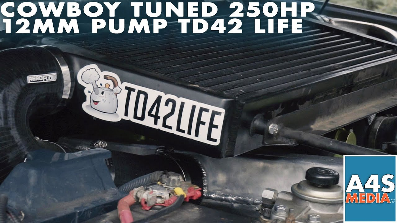 Cowboy Tuned 250HP 12MM Pump TD42 Life