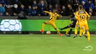 31/01/2016 FC Bruges 2 - 1 Lokeren (RESUME)