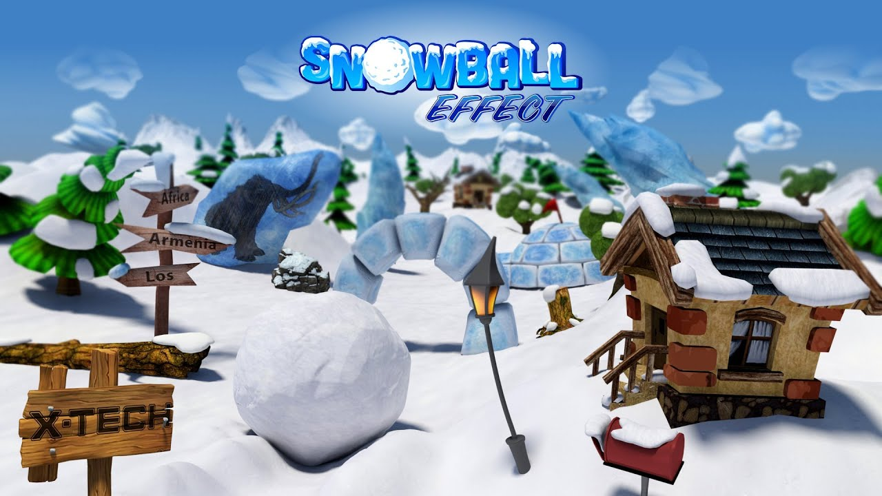 SnowBall Effect GamePlay Video