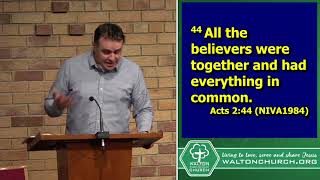 Church life - Acts 2:42-47 (May 23rd 2021 - AM) - Andy Bruins