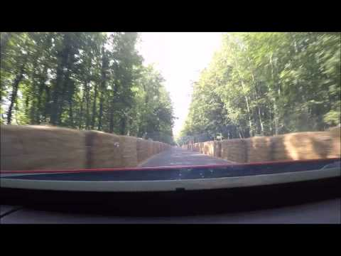 2015 Goodwood FOS - Dash Cam - Holden V8 Supercar Commodore VE - Hill Runs - Holden Racing UK