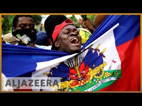 Haiti protests: President
