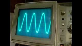 741 sine wave (Wien bridge) oscillator (typical problems)