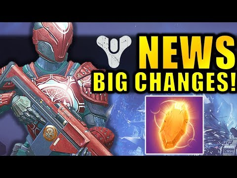 Destiny 2 News: BIG CHANGES to Iron Banner & Enhancement Cores! thumbnail