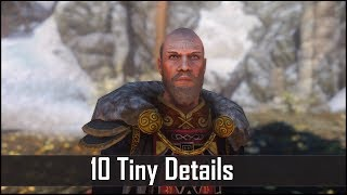 Skyrim: Yet Another 10 Tiny Details That You May Still Have Missed in The Elder Scrolls 5 (Part 27)