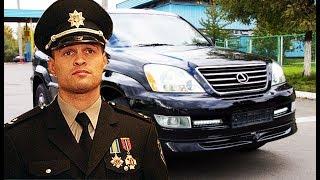 У главы полиции Украины угнали Lexus