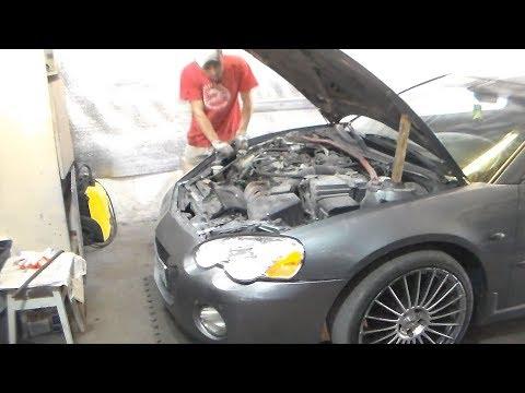 Ремонт передней ходовой Chrysler Sebring.