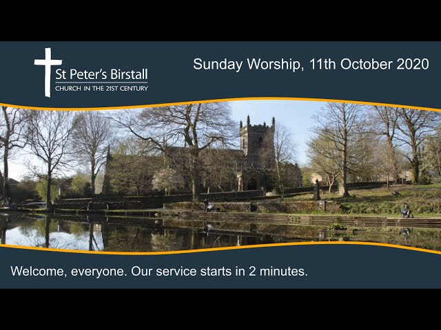 Online worship, 11th October 2020 - Harvest Festival