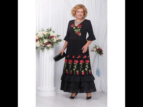 Красивые белорусские платья для полных