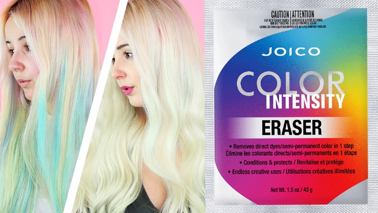 Joico Color Eraser Review Demo By Tashaleelyn Youtube