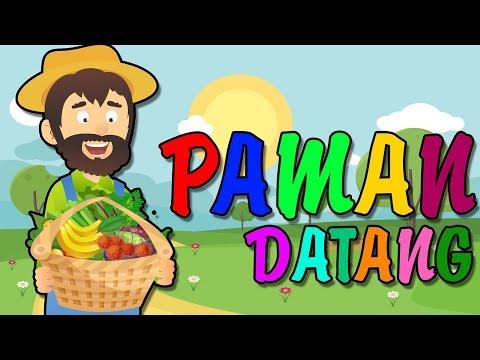 Paman Datang | Lagu Anak Indonesia (Lirik)